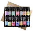 a collection of essential oils for aromatherapy