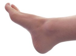 A male foot