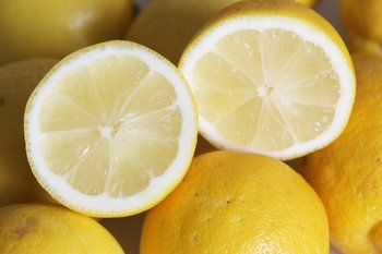 Lemons have a number of health benefits